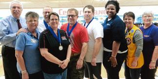 UHV Corperate Cup Bowling team