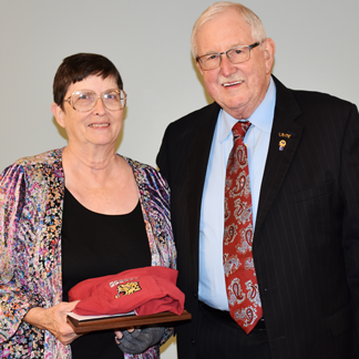 Paula Edging was named the UHV 2016 Employee of the Year.